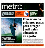 Metro Puerto Rico - 18/06/2019