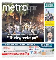 Metro Puerto Rico - 18/07/2019