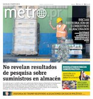 Metro Puerto Rico - 21/01/2020