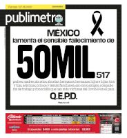 Mexico City - 07/08/2020