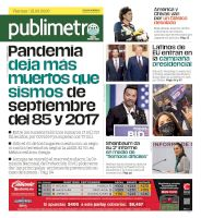 Mexico City - 18/09/2020